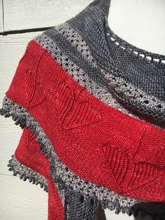Ravelry: Hearts on Your Sleeve Shawl pattern by Julia Decker