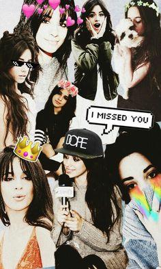 Wallpaper Camila Cabello/ Fondo de pantalla de Camila Cabello .