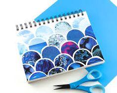 Resultado de imagem para customização de cadernos com recortes