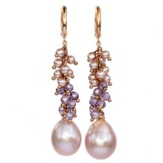 Pearls Amethist