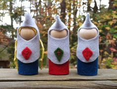 Peg Doll Knights.  Emerson Waldorf School Holiday Faire Chapel Hill, NC ~ November 23, 2013