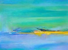 Beatrice Dauge Seashore at noon oil on canvas inches Oil On Canvas, Painting, Painting Abstract, Painting Art, Paintings, Painted Canvas, Drawings