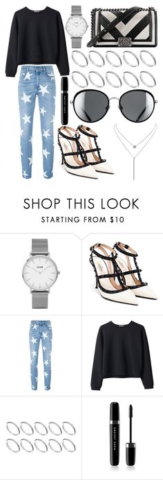 """""""495."""" by plaraa on Polyvore featuring Chanel, CLUSE, Valentino, STELLA McCARTNEY, Organic by John Patrick, ASOS, Marc Jacobs and Humble Chic"""
