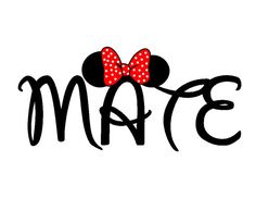 Custom Personalized Soul Mate Minnie Iron door AreWeThereYetDesigns