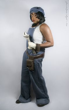 Audrey Ramirez from Atlantis: The Lost Empire by Black Bettie | ACParadise.com