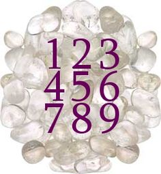 Numerology and crystal healing