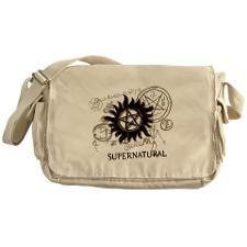 SUPERNATURAL Rusty Metal black Messenger Bag