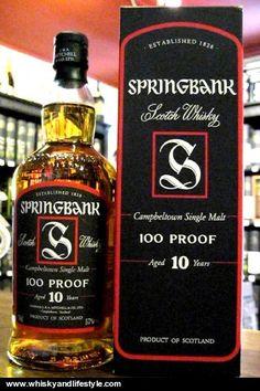 Springbank Scotch Whisky