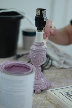 DIY:  Chalk Paint - here are a few short tricks to keep in mind if you use chalk paint.  The link also shows things we may have never thought to paint.