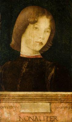 Giovanni Bellini, Portrait of a Boy, 1475, Birmingham, Barber Institute of Fine Arts