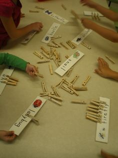 Mrs. Bremer's Kindergarten: Word Detectives Freebie, Bug Write-the-Room Freebies & More Literacy Work Stations