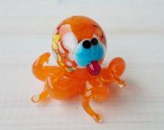 Mini Dove Glass Figurine Glass Art Gifts under by MiniGlassStudio