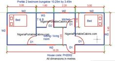 free house plan 3 bed room flat - Google Search