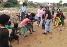 Do you know what a game of tug-o-war can bring out in kids? - Khel Planet - Play for century life skills I An Education Non-profit Social Enterprise, Do You Know What, Non Profit, Life Skills, 21st Century, Planets, Third, Foundation, Two By Two