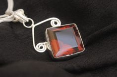AWESOME BRANDY QUARTZ HOLIDAY GIFT ITEM FOR HER 925 STERLING SILVER PENDANT 1299 #925silverpalace #Pendant