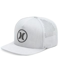 c5d36bd8c8a Hurley Men s Dri-Fit Icon 2.0 Perforated Logo Hat Hats For Men