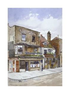 Giclee Print: Corner of Cheyne Walk and Lawrence Street, Chelsea, London, 1883 by John Crowther : Chelsea London, Cool Posters, Find Art, Framed Artwork, Giclee Print, Online Printing, Poster Prints, Walking, Lawrence Street