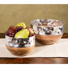 TY Persimmon Serving Bowls - Bowls - IMAX