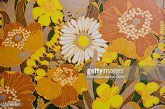 Stockfoto : Floral pattern, full frame