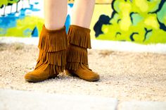 Fashion Troubadour - MINNETONKA boots are my go to in the fall!!