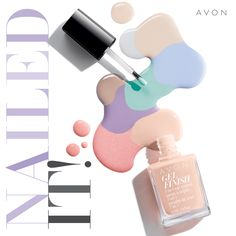 Get the best at-home gel nails with Avon Gel Finish Nail Enamel. Avon Nail Polish, Avon Nails, Manicure And Pedicure, Gel Manicures, Pedicure Summer, Online Shopping, Gel Nails At Home, Summer Shades, Shops