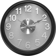Infinity Instruments // The Onyx Wall Clock