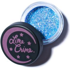 Lime Crime Pisces Zodiac Glitter ($13) ❤ liked on Polyvore featuring beauty products, makeup, eye makeup, beauty, eyes, fillers, glitter, loose powder makeup, lime crime and lime crime cosmetics