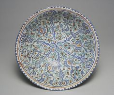 Unknown Artist, Bowl with Radial Design, late 12th-early 13th century | Harvard Art Museums/ Sackler Museum