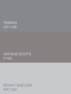 Neutral but nuanced. Warm but whispering. The Valspar colors Tinman VR114B, Vintage Boots 319Q and Rocky Shelter VR114D are Simply Perfect grays. Available at Ace.