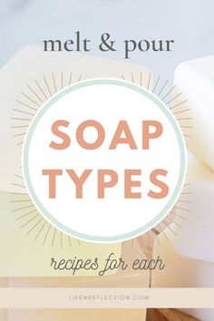 Get to know all the melt and pour soap types with my detailed review and recipes for each melt and pour soap base! Soap Making Recipes, Soap Making Supplies, Soap Base, Diy Skin Care, Home Made Soap, Feeling Overwhelmed, Feelings, Homemade Dish Soap, Homemade Skin Care