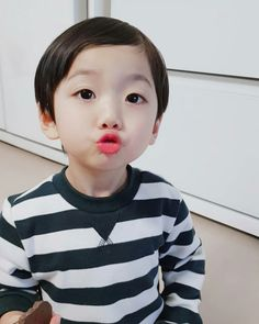 Hong Eunwoo 홍은우😙 pict from ig Cute Asian Babies, Korean Babies, Cute Babies, Cute Baby Boy, Cute Kids, Ulzzang Kids, Kihyun, Baby Toys, Fanfiction