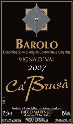 Cá Brusá Barolo Vigna d´Vai 2010
