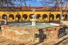 Fountain at Mission San Fernando