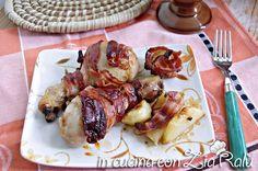 fusi di pollo salvia e bacon
