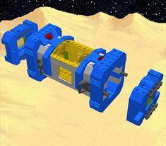 module end caps Legos, Classic Lego, Lego Kits, Lego Display, Standard Image, Lego Spaceship, Lego Military, Flying Saucer, Lego Projects