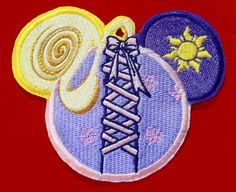 Your place to buy and sell all things handmade Disney Princess Rapunzel, Disney Tangled, Disney Cruise, Disney Style, Disney Love, Disney Mouse Ears, Minnie Mouse, Disney Patches, Girl Scout Patches