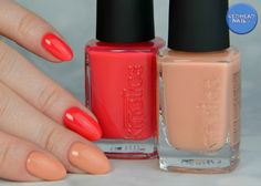 "Kinetics ""Camel or cabrio"" & ""Too hot to belive"" Nail Blog, Camel, Nail Polish, Nails, Hot, Enamels, Finger Nails, Manicure, Spring Summer"