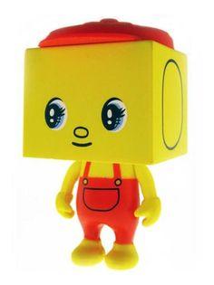"To Fueki to Fu Tofu Devilrobots 2"" Yellow Designer Vinyl Figure   eBay"