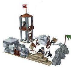 jeu construction enfant guerre playmobil
