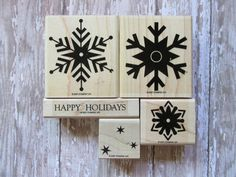 "Stampin' Up!, ""Snowfall"" by CherylsStampStuff on Etsy"