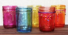 Learn How To Tint Jars In Gorgeous Colours | The WHOot