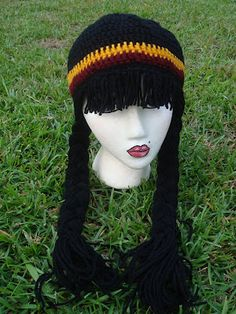 NyanPon's Knits and Crochet: Lassie Wig