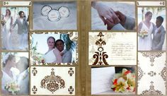 Divine Photo Album Accents PicFolio Scrapbooking #quick #DIY #wedding   Detailed Directions on Creative Memories Project Center : http://projectcenter.creativememories.com/photos/divine_power_palette_proj/divine-photo-album-accents-picfolio-scrapbooking-spread.html