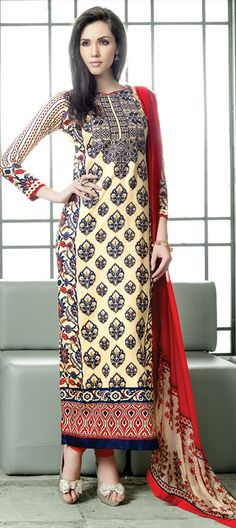 425704: Pattern Prints -are you an experimenter? If you just nodded, check this out!  #SalwarKameez #IndianFashion #Partywear