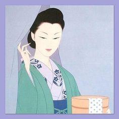 "This work is ""After taking bath"" by ""Ichiro Tsuruta"""