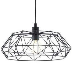 EGLO hanglamp Carlton 2 - zwart