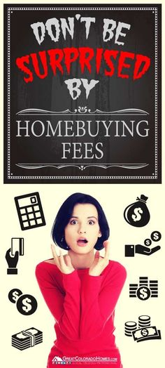Here's a breakdown of all the potential fees that you may be paying when you buy a home. #realestate #expenses Buying a Home #buyingahome #homebuyingtips