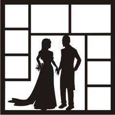 EZLaserDesigns : I Now Pronounce Art wedding scrapbook overlay