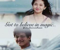 youve got to believe in magic