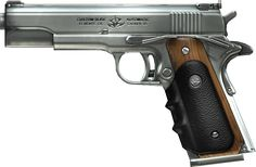 """AMT .45 ACP Hardballer., aka Agent 47s """"Silverballers"""" from the movie and video game """"Hitman""""."""